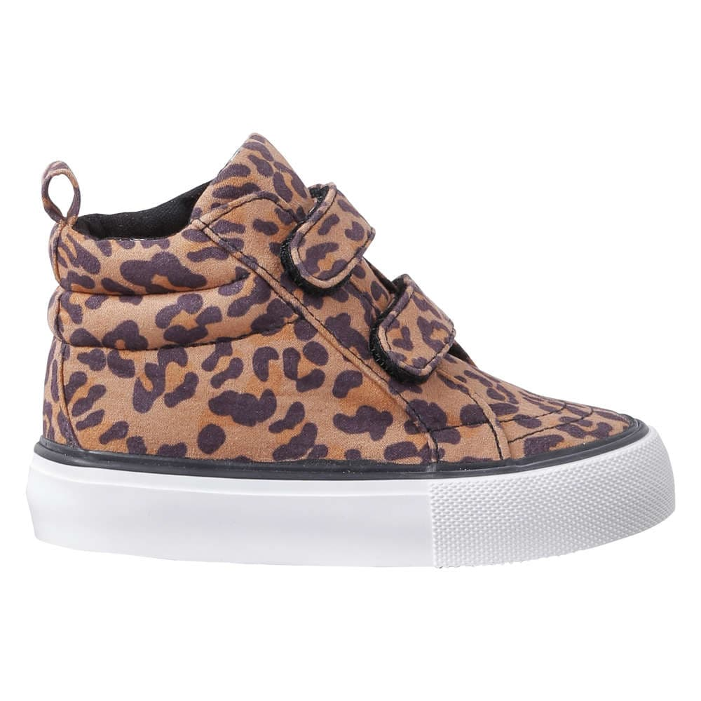 04bf607bd87d4 Baby Girls  Leopard High Top Sneakers in Natural from Joe Fresh