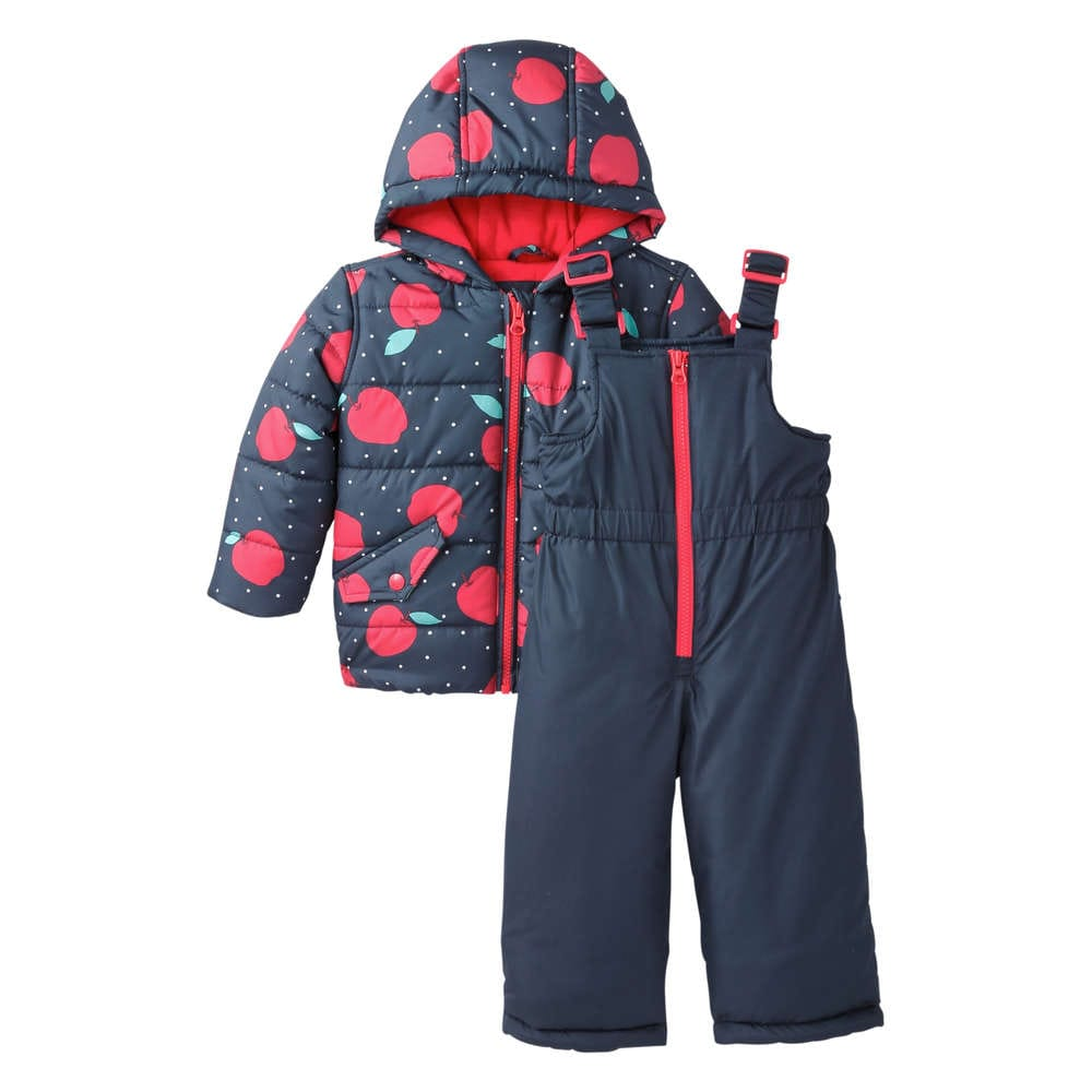 31f99bb19 Baby Girls' Apple Snow Set in JF Midnight Blue from Joe Fresh