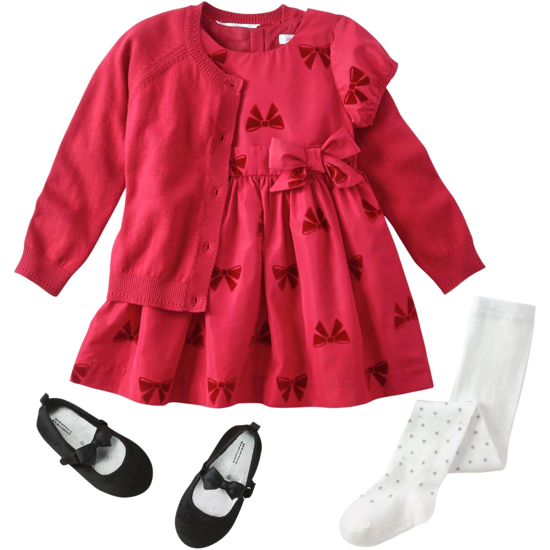 85ec21e88 Baby Girl Holiday Dressing Box in Carmine Red from Joe Fresh