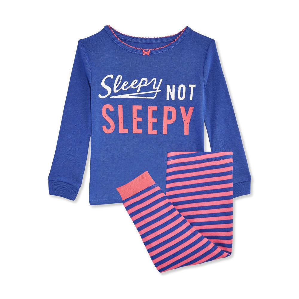 7123abc85568 Baby Girls  2 Piece Sleep Set in Blue from Joe Fresh