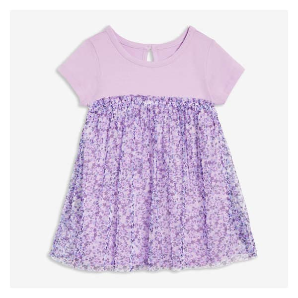 805d08cb60 Baby Girls  Print Tulle Dress