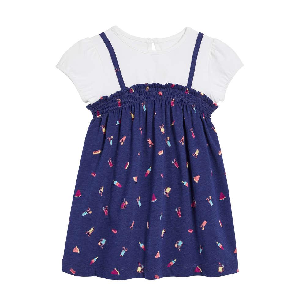 01ab70444cacd Joe Fresh Baby Girls' Smocked Dress