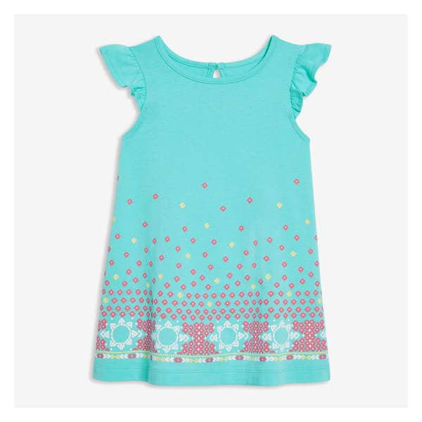 aaef81fa53d Baby Girls  Graphic Flutter Dress