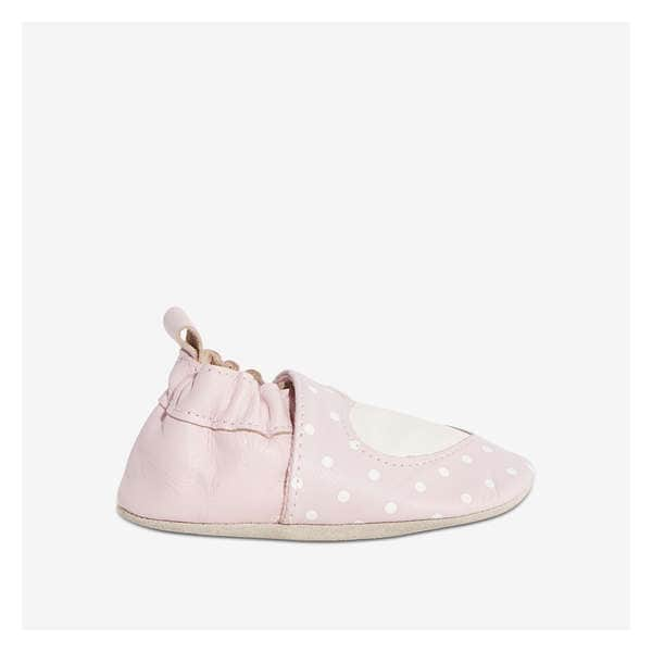 7072bd6433694 Baby Girls  Heart Leather Footlet