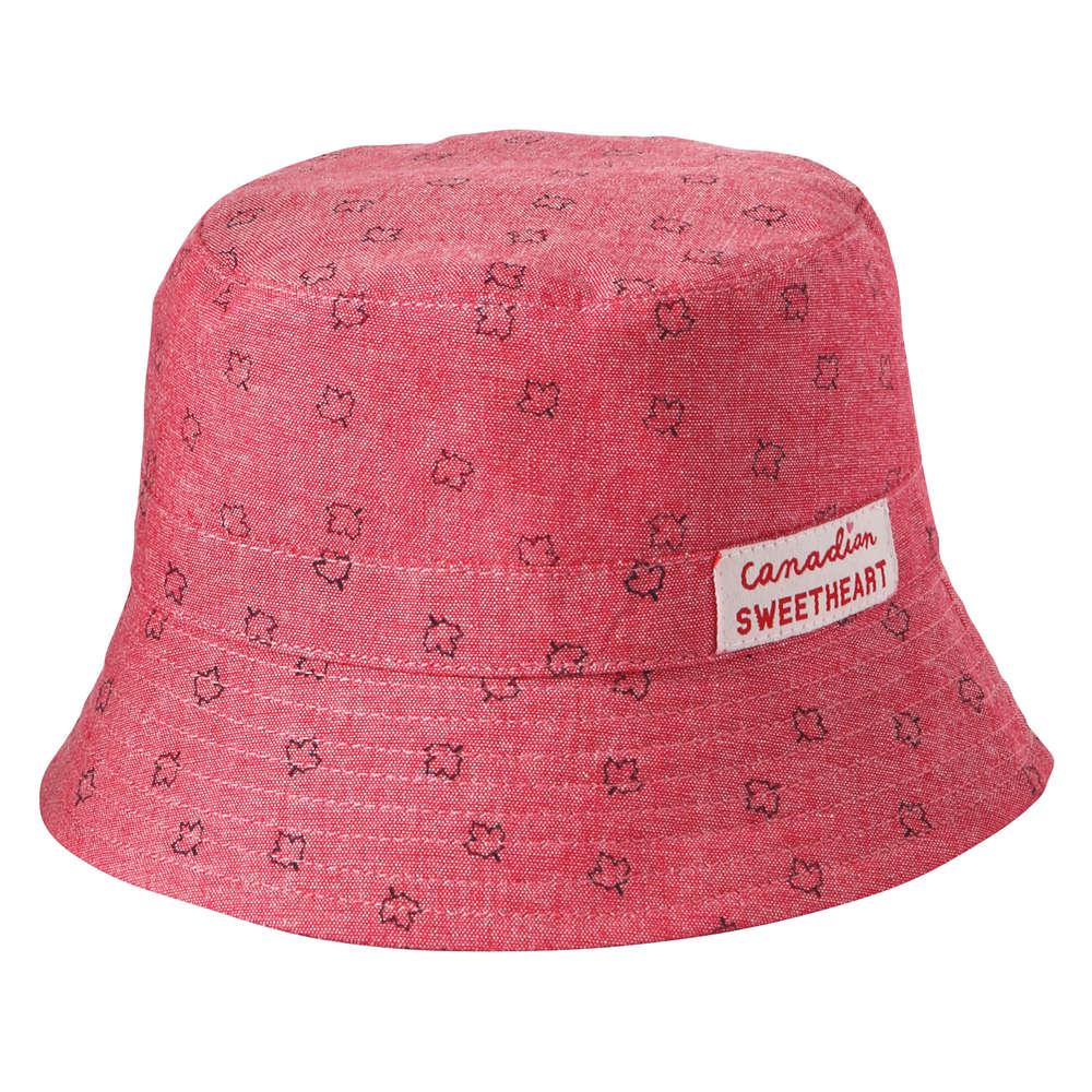 dc541ed2acd Baby Girls  Canada Bucket Hat in Red from Joe Fresh