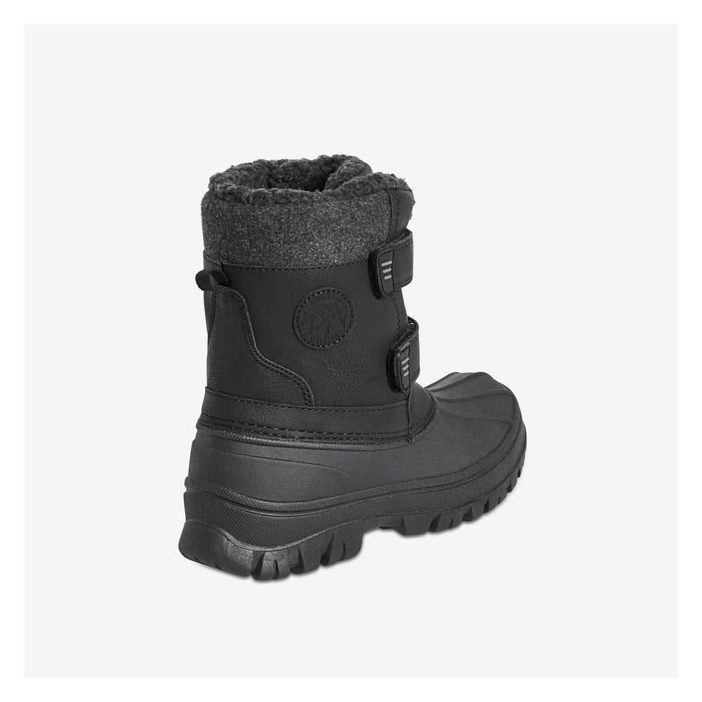Kid Boys' Snow Boots in Black from Joe