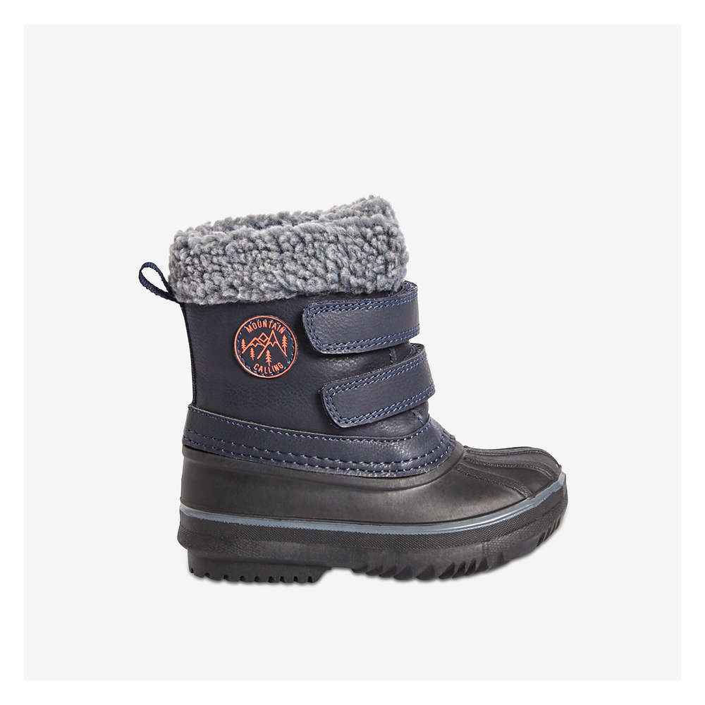 super popular shoes for cheap innovative design Toddler Boys' Snow Boots in Navy from Joe Fresh