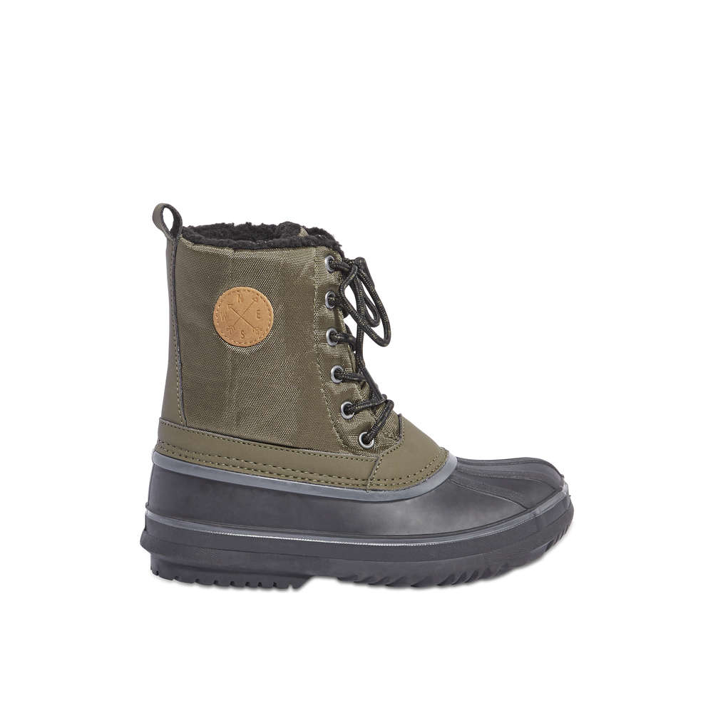 Kid Boys  Snow Boots in Khaki Green from Joe Fresh c274ab937