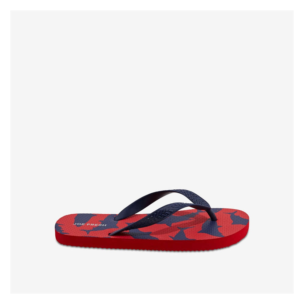 2ce012d23687 Kid Boys  Flip Flops in Red from Joe Fresh