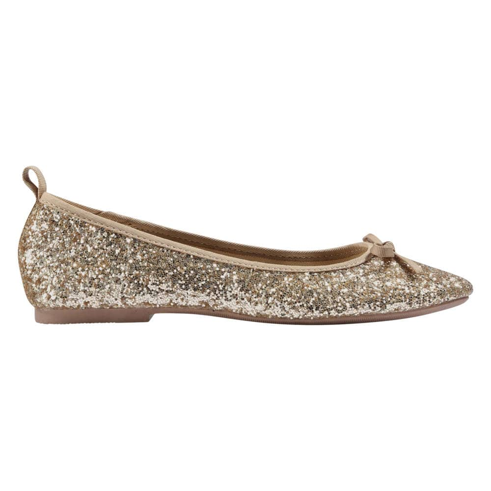 0a9bb44f4a Joe Fresh Kid Girls' Glitter Ballet Flats