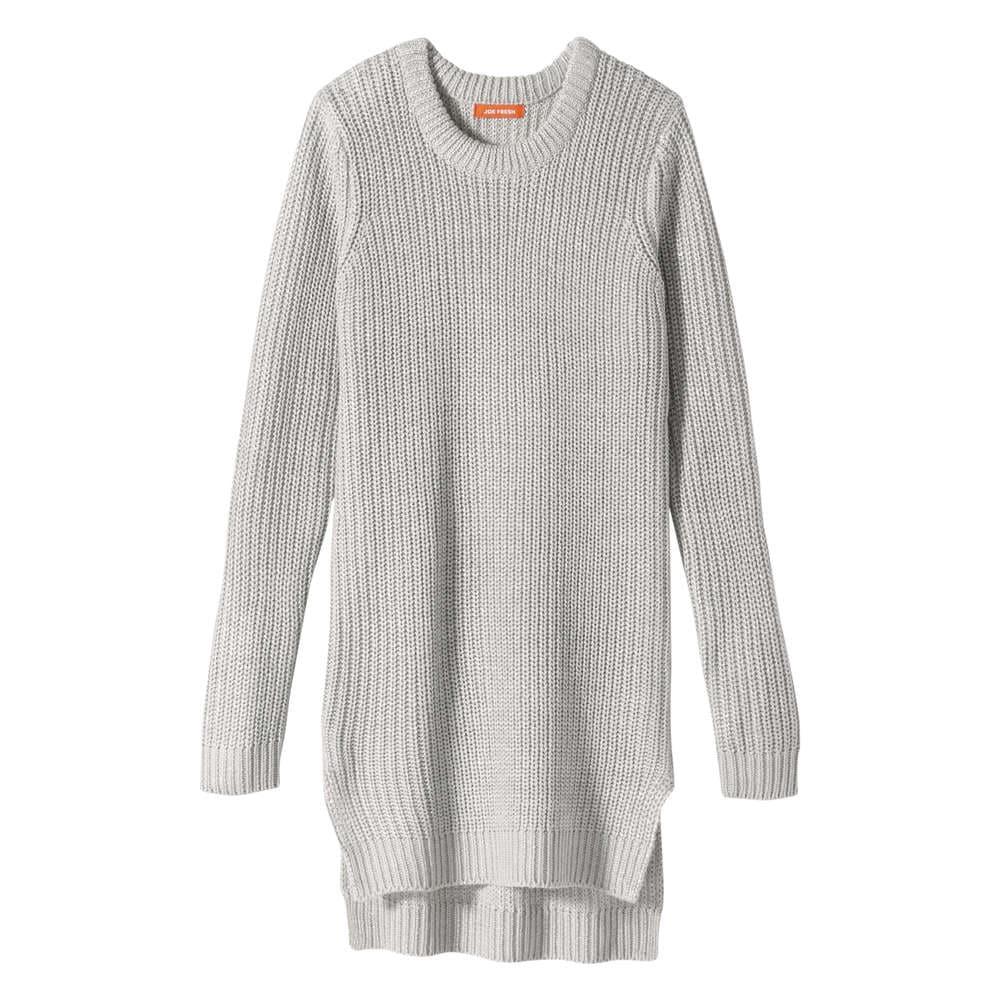 Kid S Sweater Dress In Light Grey