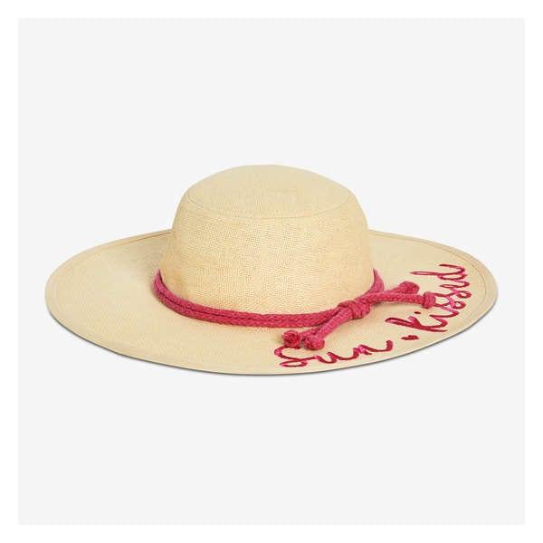 a4bc60e808561 Kid Girls  Sun Kissed Straw Hat