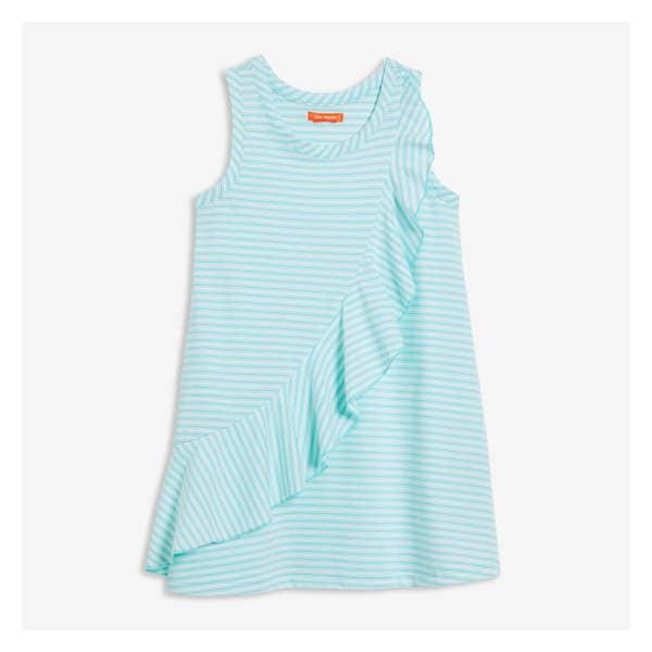 ca5179e3c1 Kid Girls  Stripe Ruffle Dress