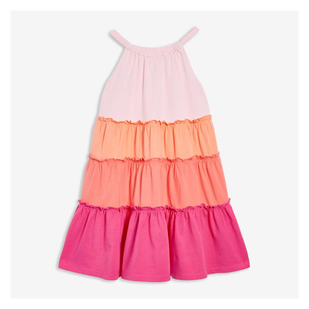 4e874061758df Joe Fresh Kid Girls' Tiered Dress