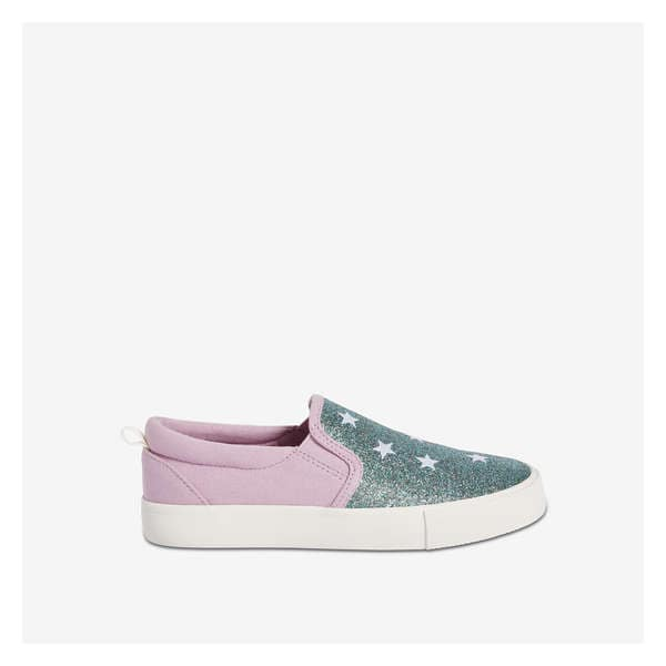 a480dcf1a5ac Kid Girls  Glitter Vulcanized Sneakers