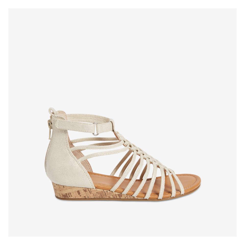 43015dfd9523 Kid Girls  Gladiator Sandal in Gold from Joe Fresh
