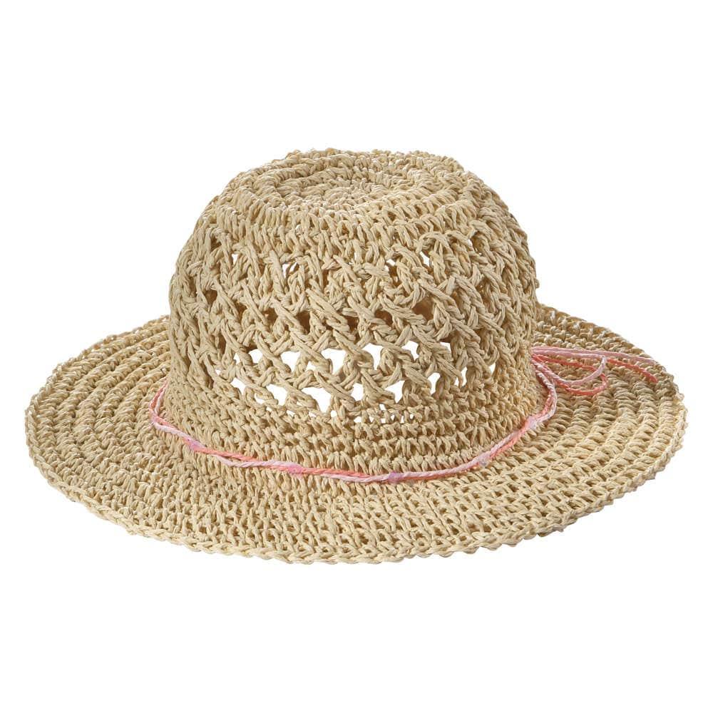 Kid Girls  Wide Brim Straw Hat in Natural from Joe Fresh 9e6460f051c