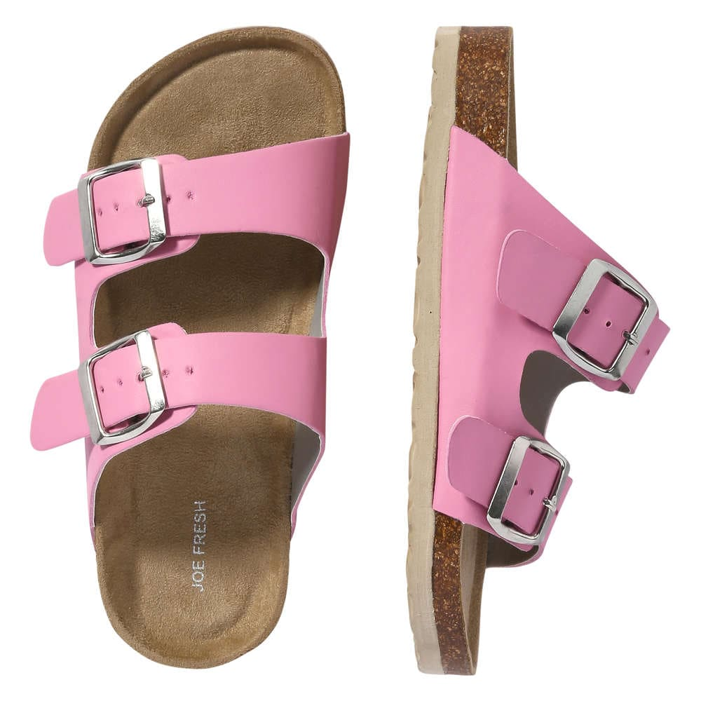 32fd3594a5d2 Kid Girls  Two Strap Sandals in Pink from Joe Fresh