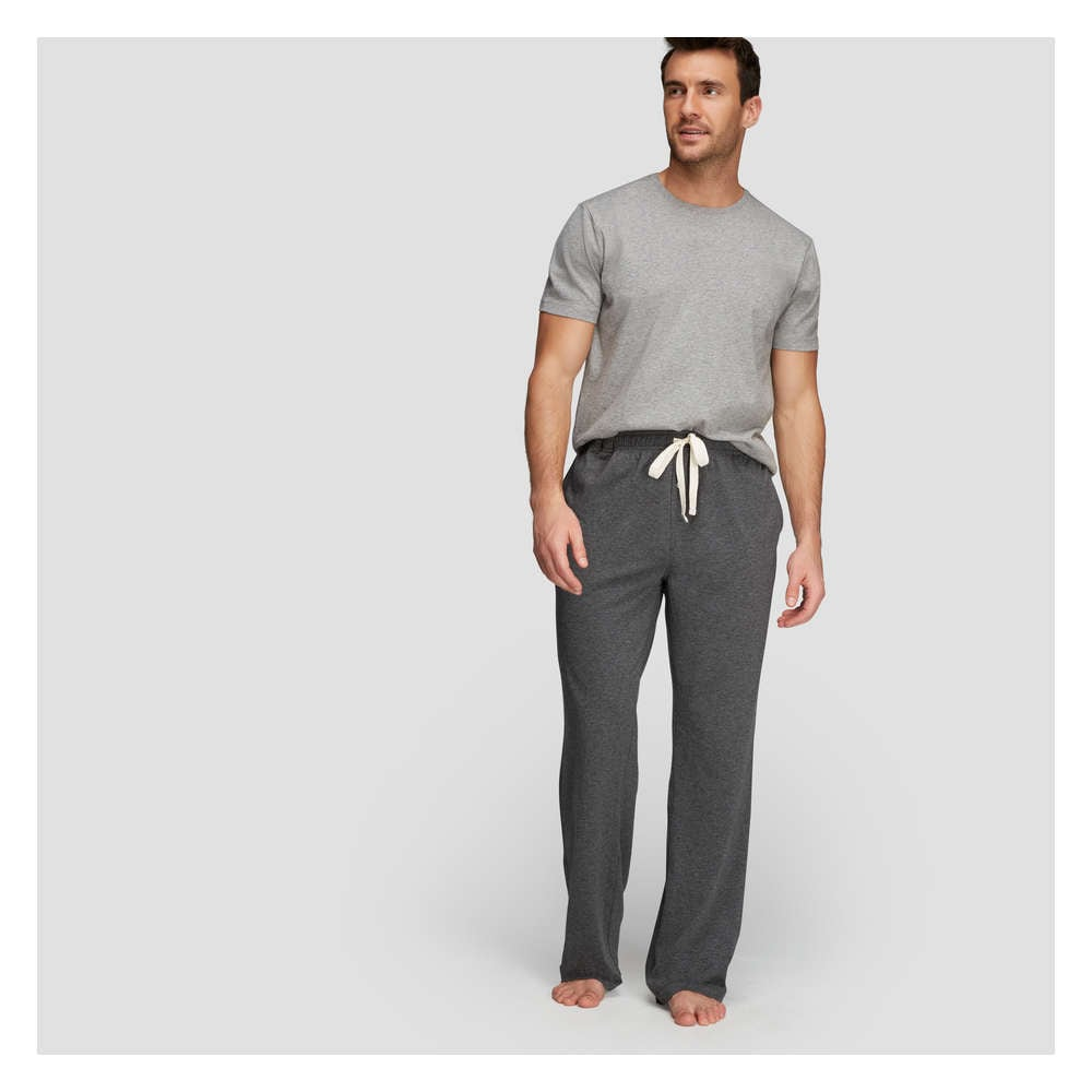 8678b684936 Men's Sleep Pant in Charcoal Melange from Joe Fresh