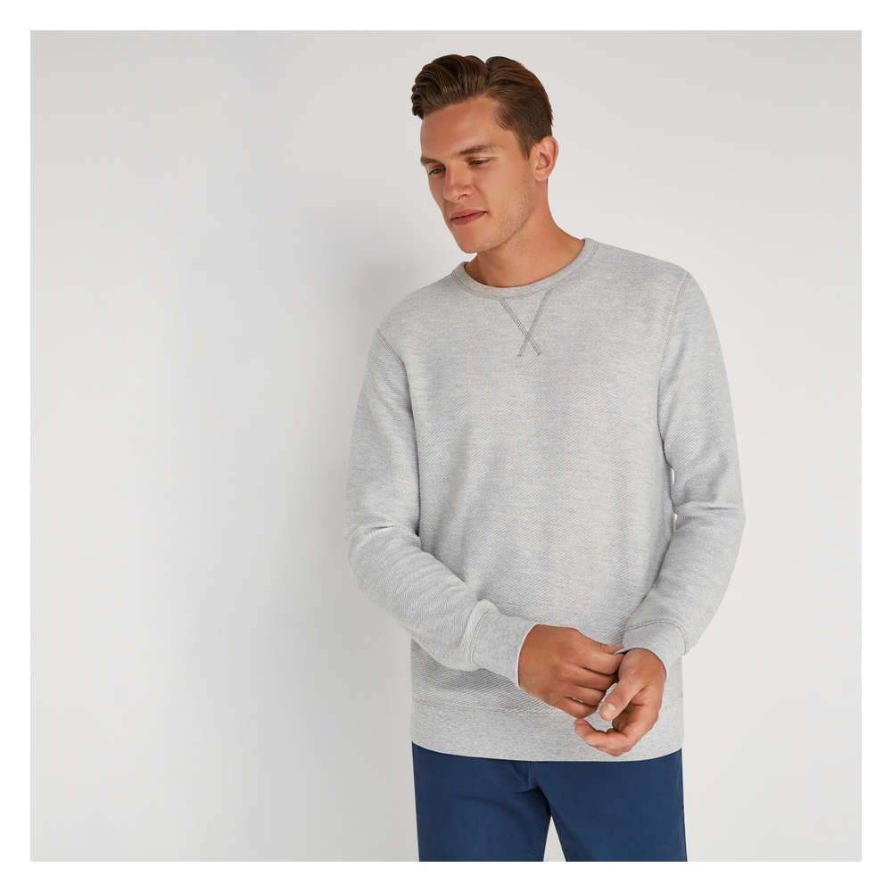Mens Sweatshirt In Cream From Joe Fresh
