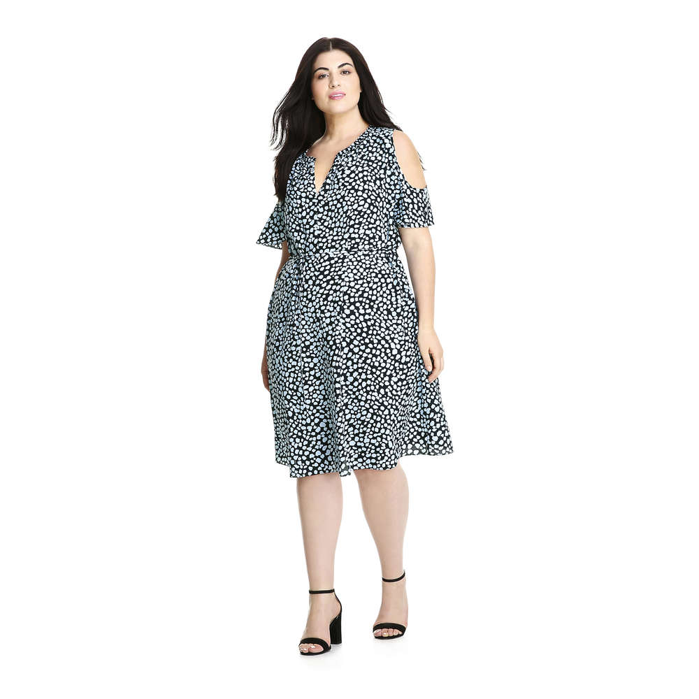 1cdb600ef7f54 Joe Fresh Women+ Cold Shoulder Dress