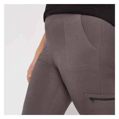 fecc658166907a Women+ Cargo Leggings in Grey from Joe Fresh