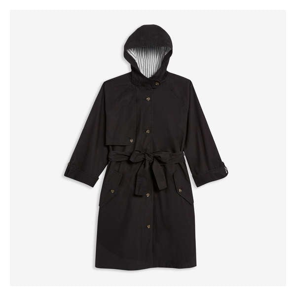 94fb1e3a699d5 Women+ Hooded Trench Coat