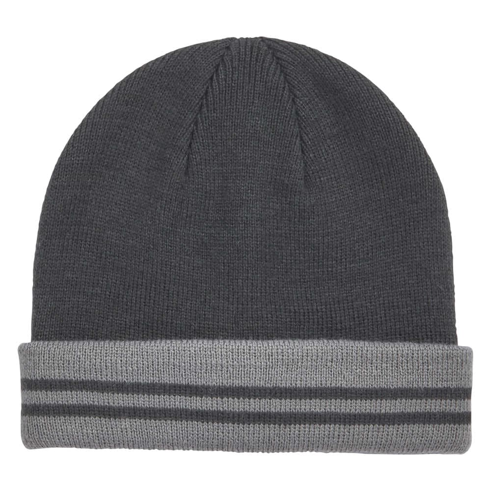 40c83633c4a58 Toddler Boys  Knit Hat in Dark Charcoal from Joe Fresh