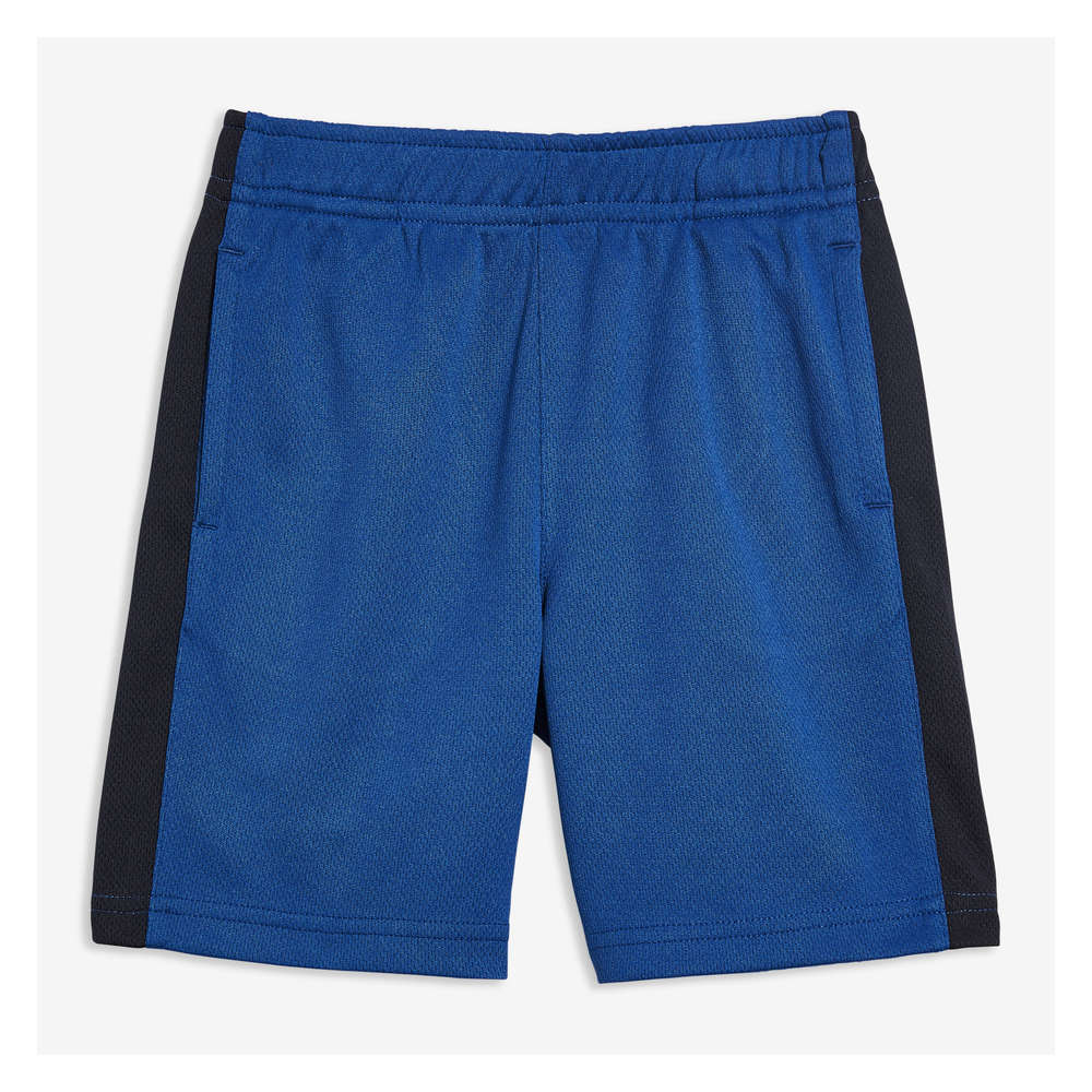 Toddler Boys' Active Shorts in Deep Blue from Joe Fresh
