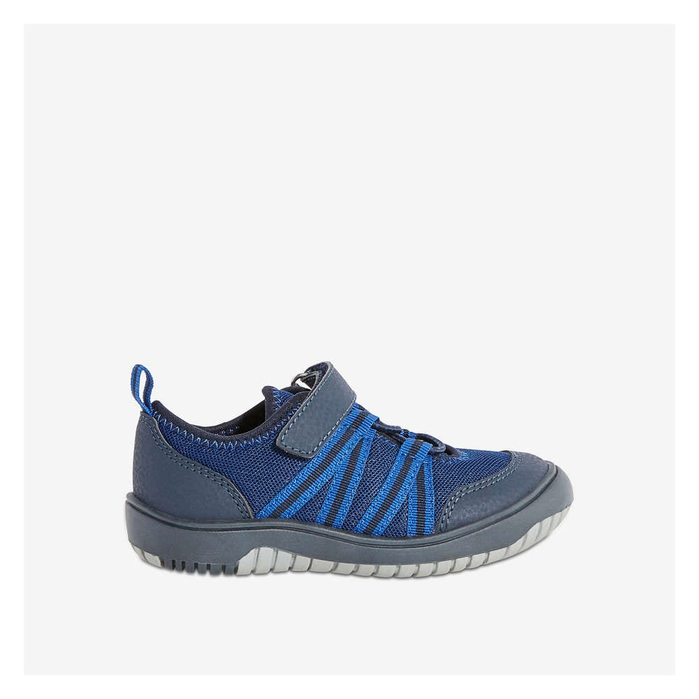 Toddler Boys  Running Shoes with Bungee Laces in Midnight Blue from ... a31dea334655
