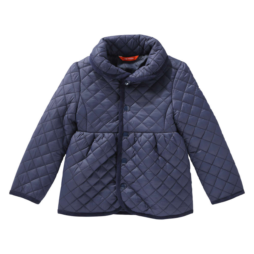 9f1e588af Toddler Girls  Quilted Jacket in Navy from Joe Fresh