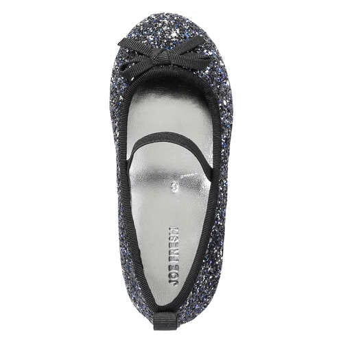 ca98c26f9633 Toddler Girls  Glitter Bow Ballet Flats in Navy from Joe Fresh