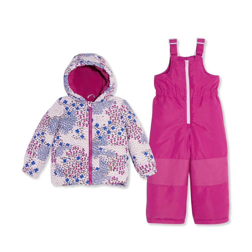 e3d2d0fb6d6 Toddler Girls' 2 Piece Snowsuit Set in Lavender from Joe Fresh