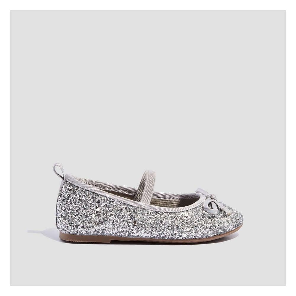 2945a510ae Joe Fresh Toddler Girls' Glitter Ballet Flat