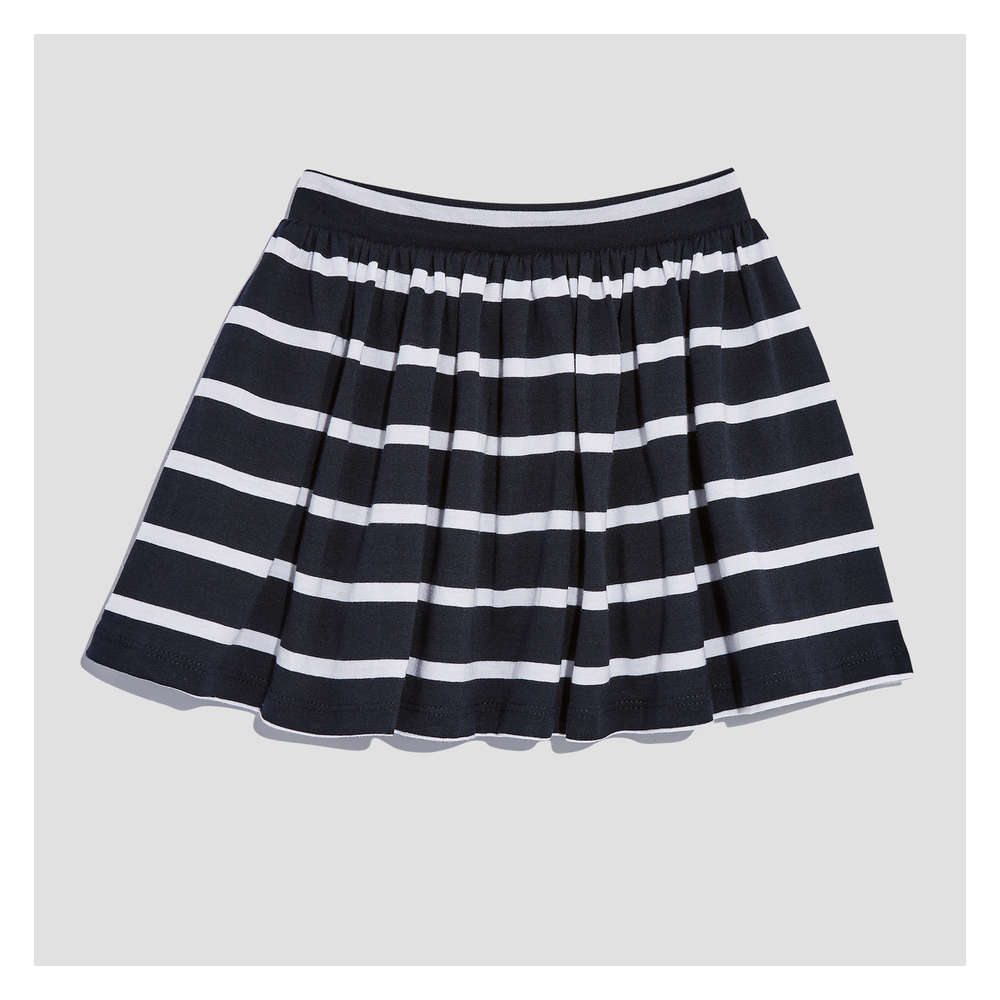 96fa1a495 Toddler Girls' Stripe Skirt in JF Midnight Blue from Joe Fresh