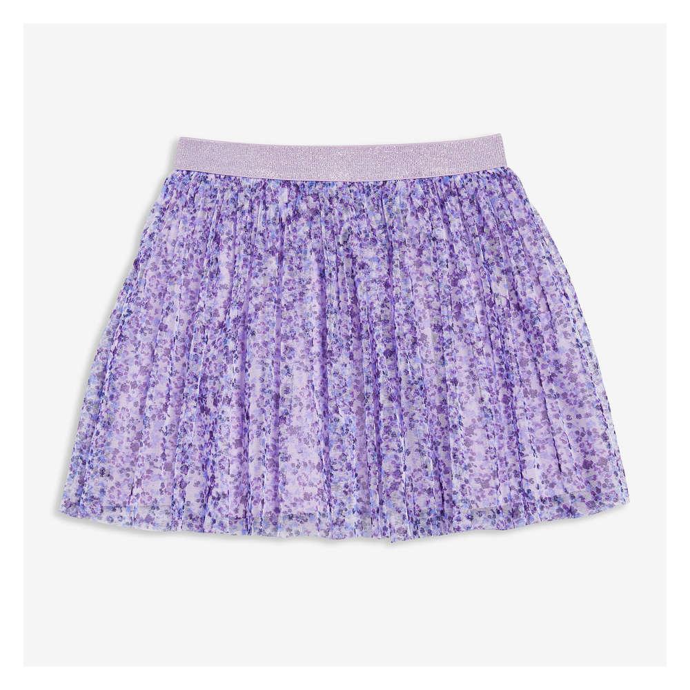 b5f19da770 Toddler Girls' Tulle Overlay Skirt in Lavender from Joe Fresh