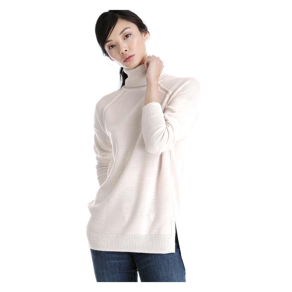 2e47c3d00a8 Turtleneck Tunic Sweater in Off White from Joe Fresh