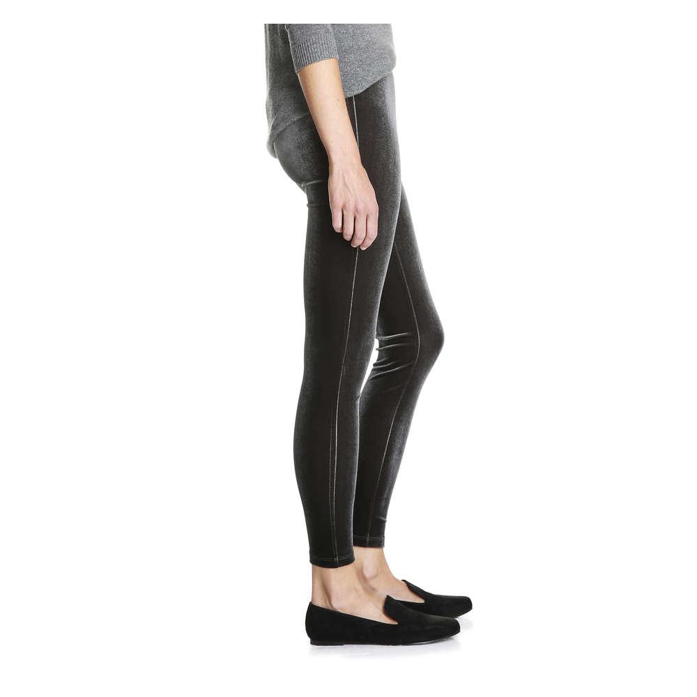 a8a93939e56e1c Velvet Legging in Dark Grey from Joe Fresh