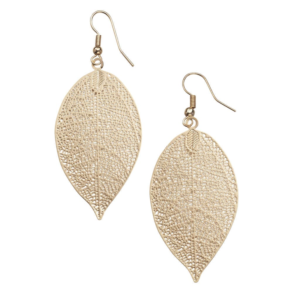 Out Of Stock Leaf Earrings