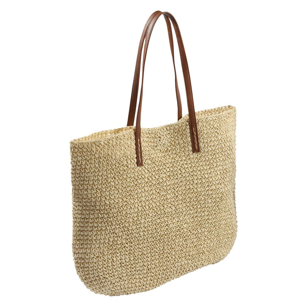 straw tote bag in from joe fresh