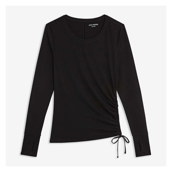 96c5c5ea5 CLEARANCE 37% OFF. Ruched Long Sleeve Tee