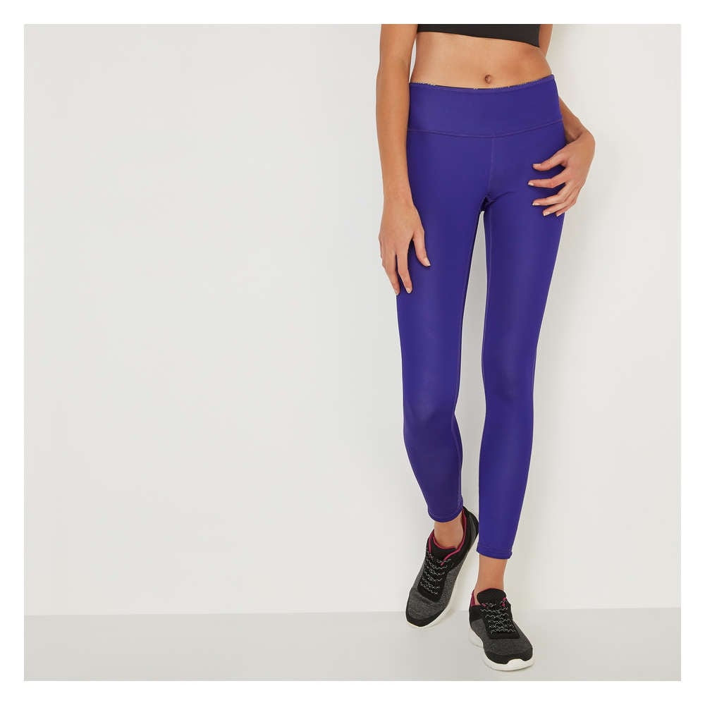 c7ae994a51d7d Reversible Active Legging in Purple from Joe Fresh