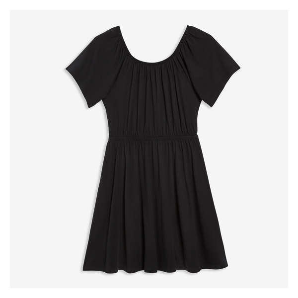 6fdeb65fab2 NEW ARRIVAL. Shirred Neck Dress