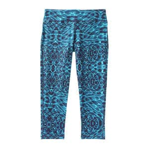 Print Cropped Yoga Legging
