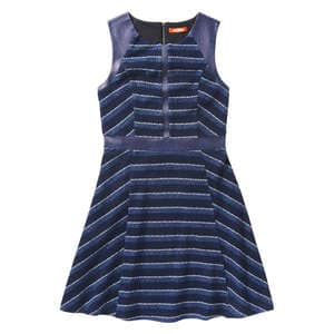 Stripe Bouclé Dress