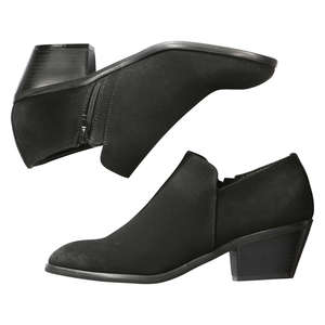 Sueded Ankle Booties