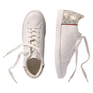 Metallic Accent Sneakers