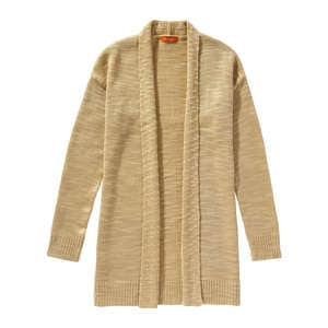 Open Slub Knit Cardigan