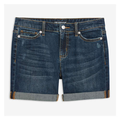 9d111c3103 Denim Shorts in Dark Wash from Joe Fresh